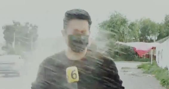 atacan a reportero canal 6 telediario