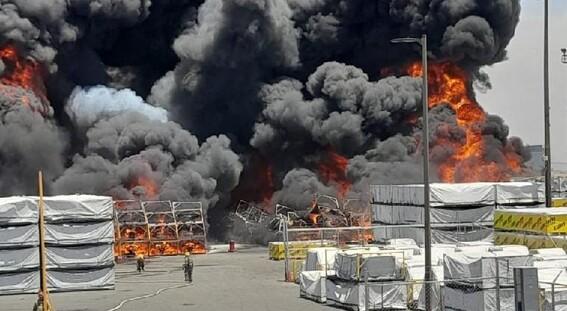 video reportan incendio maquiladora de ciudad juarez