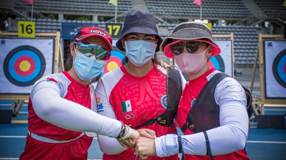 aida alejandra y ana el equipo femenil de tiro con arco que brilla en tokio