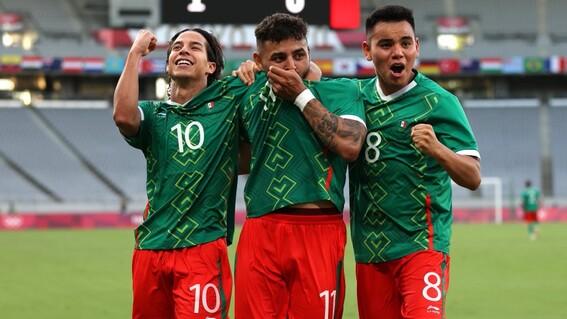 mexico francia goles juegos olimpicos seleccion