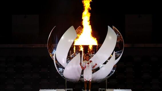 pebetero naomi osaka japon tokio juegos olimpicos