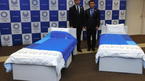 camas reciclables una iniciativa ecofriendly en la villa olimpica de tokio