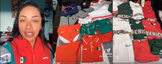 olimpicos tokio 2020 olimpicos tokio 2020 uniformes basura softbol softbol mexico