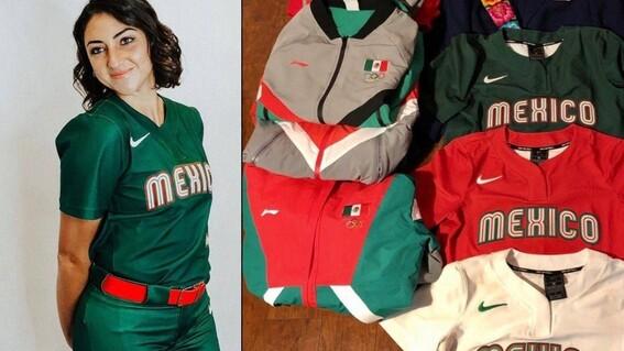 olimpicos tokio 2020 olimpicos tokio 2020 equipo femenil softbol uniformes en la basura softbol uniformes softbol basura