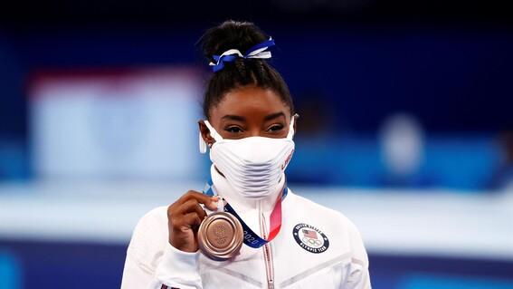 simone biles olimpicos tokio 2020 olimpicos tokio 2020 juegos olimpicos regreso simone biles salud mental medalla
