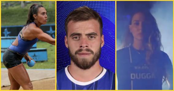 ¿quienes son los deportistas que forman parte de conquistadores equipo azul de exatlon