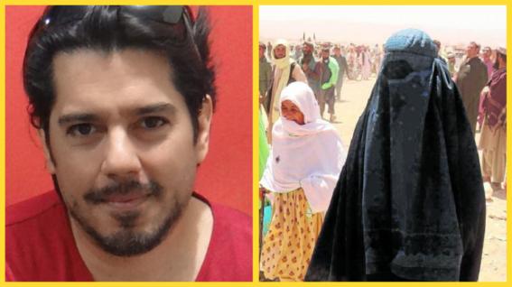 conductor de television invita a feministas a trabajar en afganistan