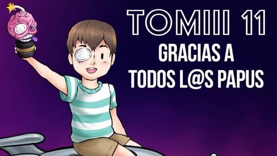 tomii 11 muere