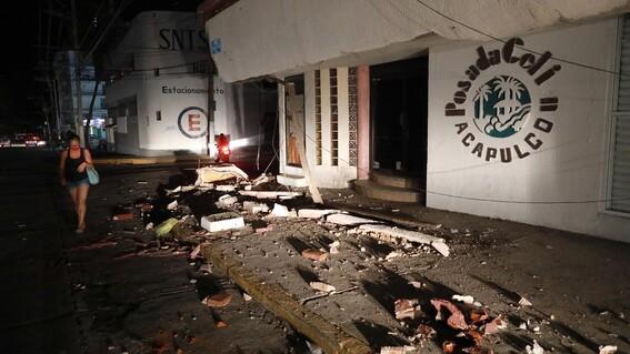 sismo terremoto un muerto en coyuca de benitez guerrero