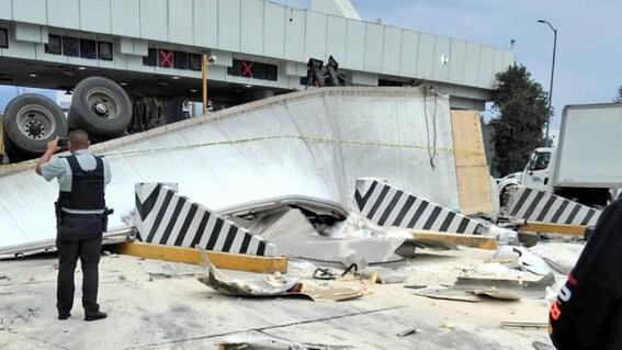 accidente trailer caseta mexicopuebla muertos heridos
