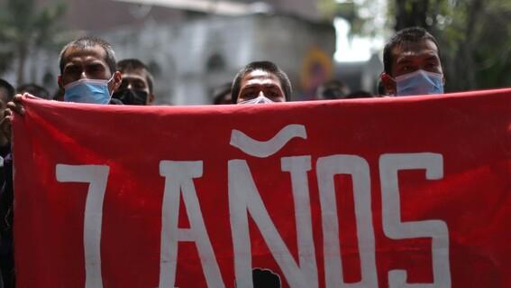se cumplen 7 anos de la desaparicion de 43 normalistas de ayotzinapa