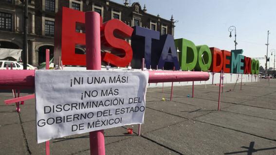 estado de mexico primer lugar en feminicidios en el pais