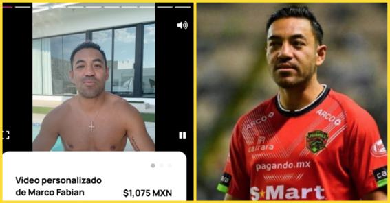 marco fabian vende saludos por internet tras quedarse sin equipo