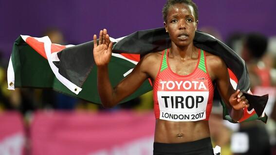 encuentran muerta a la keniana agnes tirop